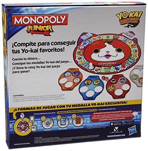 Juegos En Familia Hasbro Juego De Mesa Monopoly Junior Edicion