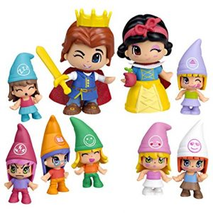Pinypon-Pack-figuras-Blancanieves-y-7-enanitos-Famosa-700012750-0