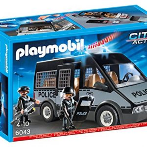 Playmobil-Furgn-de-polica-con-luces-y-sonido-60430-0