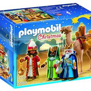 Playmobil-Navidad-Playset-Reyes-Magos-5589-0